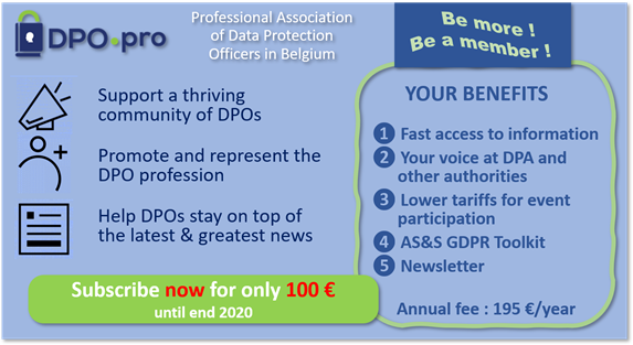 Become a member of DPO-pro!