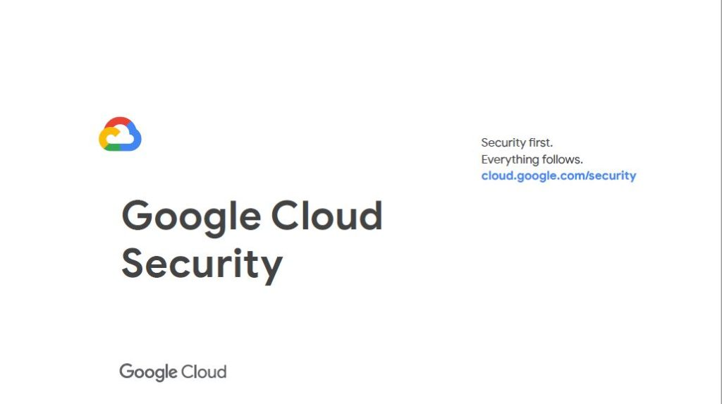 Google Cloud security and GDPR