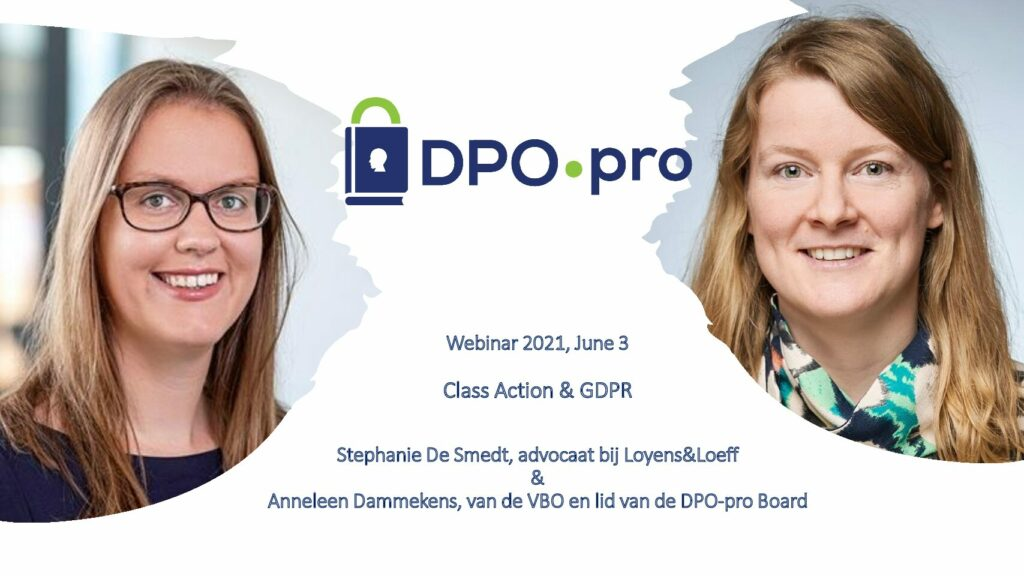 Gdpr & Class Action