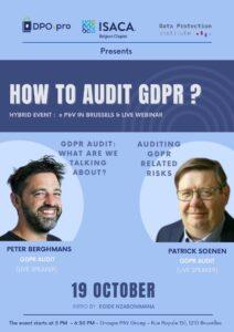 Presentation: How to audit GDPR?